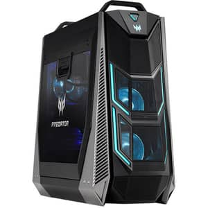 Sistem Desktop Gaming ACER Predator Orion 9000, Intel Core i9-1098XE pana la 4.6GHz, 64GB, SSD 1TB, NVIDIA GeForce RTX 3090 24GB, Windows 10 Home