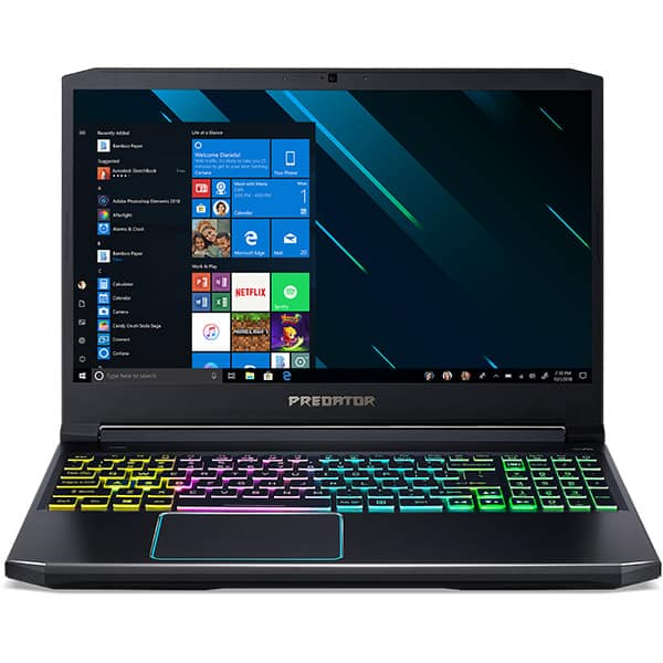"Laptop Gaming ACER Predator Helios 300 PH315-53-78G2, Intel Core i7-10750H pana la 5.0GHz, 15.6"" Full HD, 32GB, SSD 1TB, NVIDIA GeForce GTX 1660Ti 6GB, Windows 10 Home, negru"