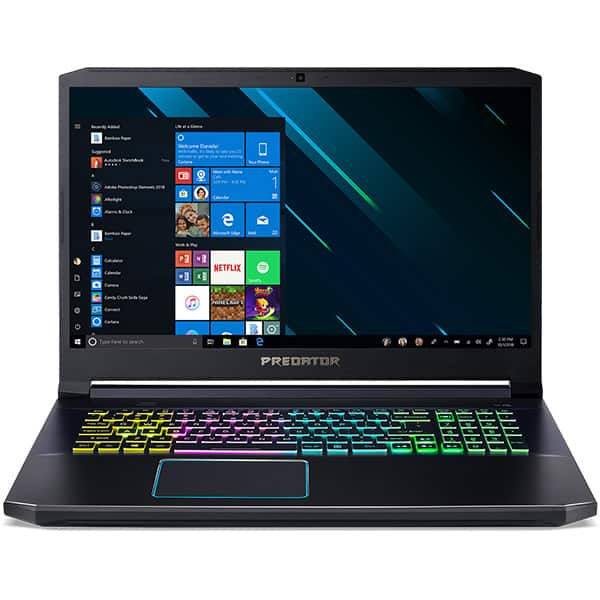 "Laptop Gaming ACER Predator Helios 300 PH317-53-73HM, Intel Core i7-9750H pana la 4.5GHz, 17.3"" Full HD, 16GB, HDD 1TB + SSD 256GB, NVIDIA GeForce RTX 2060 6GB, Windows 10 Home, negru"