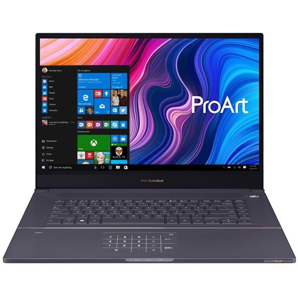 "Laptop ASUS ProArt StudioBook H700GV-AV004R, Intel Core i7-9750H pana la 4.5GHz, 17"" WUXGA, 16GB, SSD 512GB, NVIDIA GeForce RTX 2060 6GB, Windows 10 Pro, Star Grey"