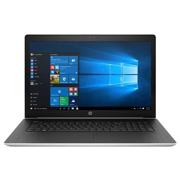 """Laptop HP ProBook 470 G5, Intel® Core™ i7-8550U pana la 4.0GHz, 17.3"""" Full HD, 8GB, 1TB + SSD 256GB, NVIDIA GeForce 930MX 2GB, Windows 10 Pro, argintiu"""