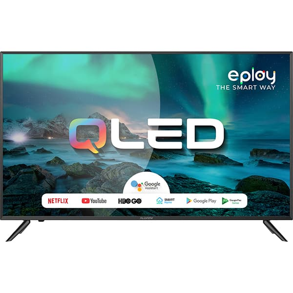 Televizor QLED Smart ALLVIEW QL43EPLAY6100-U, 4K Ultra HD, 108cm