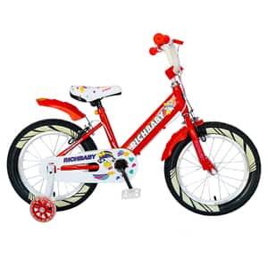 "Bicicleta fete RICH R1808A, 18"", rosu-alb"