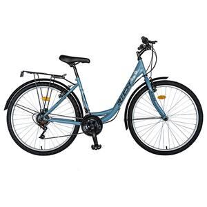 """Bicicleta City RICH R2632A, 26"""", cadru otel, albastru-negru"""