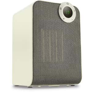 Aparat de incalzit DELIMANO Rovus Ceramic Heater 110035462, 2 trepte caldura, 1800W, alb