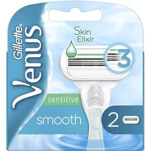 Rezerva aparat de ras GILLETTE Venus Smooth Sensitive, 2 bucati