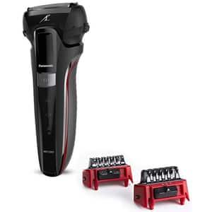 Aparat de ras PANASONIC ES-LL41-K503, acumulator, autonomie 50 min, Senzor barba, negru