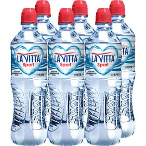 Apa plata de izvor LA VITTA  Sport bax 0.75L x 6 sticle