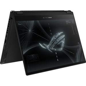 "Laptop 2 in 1 ASUS ROG Flow X13 GV301QC-K6018, AMD Ryzen 9 5900HS pana la 4.6GHz, 13.4"" WUXGA Touch, 32GB, SSD 1TB, NVIDIAGeForceRTX3050 4GB, Free Dos, negru"