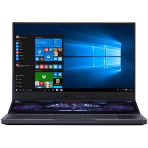 "Laptop Gaming ASUS ROG Zephyrus Duo 15 GX550LXS-HF138T Intel Core i7-10875H pana la 5.1GHz, 15.6"" Full HD, 32GB, SSD 1TB, NVIDIA GeForce RTX 2080 Super Max-Q 8GB, Windows 10 Home, gri inchis"