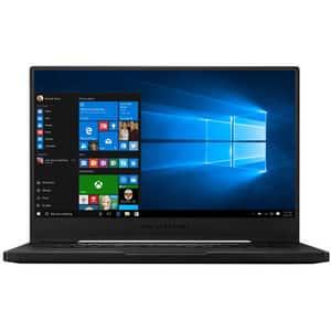 "Laptop Gaming ASUS ROG Zephyrus M GU502GV-ES004T, Intel Core i7-9750H pana la 4.5GHz, 15.6"" Full HD, 16GB, SSD 512GB, NVIDIA GeForce RTX 2060 6GB, Windows 10 Home, negru"