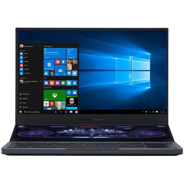 "Laptop Gaming ASUS ROG Zephyrus Duo 15 GX550LXS-HF138T Intel Core i7-10875H pana la 5.1GHz, 15.6"" Full HD, 32GB, SSD 1TB, NVIDIAGeForceRTX2080 Super Max-Q 8GB, Windows 10 Home, gri inchis"