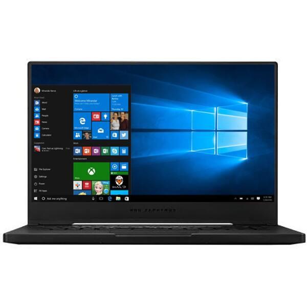 "Laptop Gaming ASUS ROG Zephyrus M GU502GV-AZ037R, Intel Core i7-9750H pana la 4.5GHz, 15.6"" Full HD, 16GB, SSD 512GB, NVIDIA GeForce RTX 2060 6GB, Windows 10 Pro, negru"