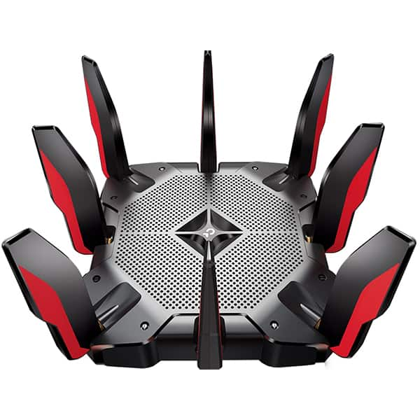 Router Wireless Gigabit TP-LINK Archer AX11000, Tri-Band 1148 + 4804 + 4804 Mbps, USB 3.0 Type C, negru