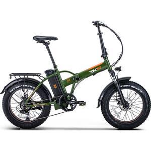Bicicleta electrica RKS RS-III, 20 inch, verde