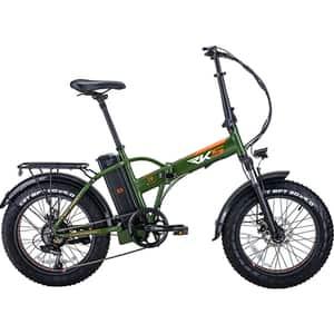 Bicicleta electrica RKS RSIV, 20 inch, verde