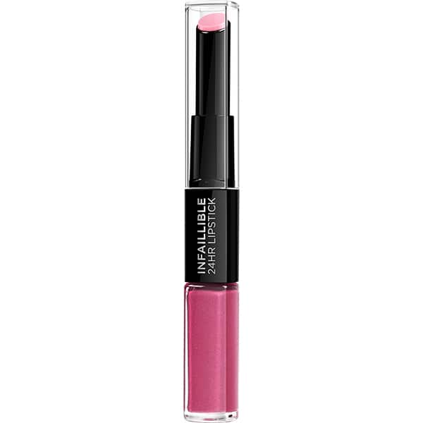 Ruj L'OREAL PARIS Infaillible 24H Lipstick, 121 Flawless Fuchsia, 5.6ml