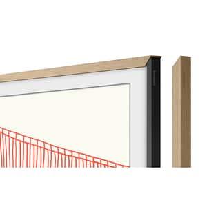 Rama TV personalizata SAMSUNG VG-SCFA55TKBXC pentru The Frame TV (2021) 55LS03A, lemn