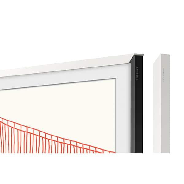 Rama TV personalizata SAMSUNG VG-SCFA75WTBXC pentru The Frame TV (2021) 75LS03A, alb