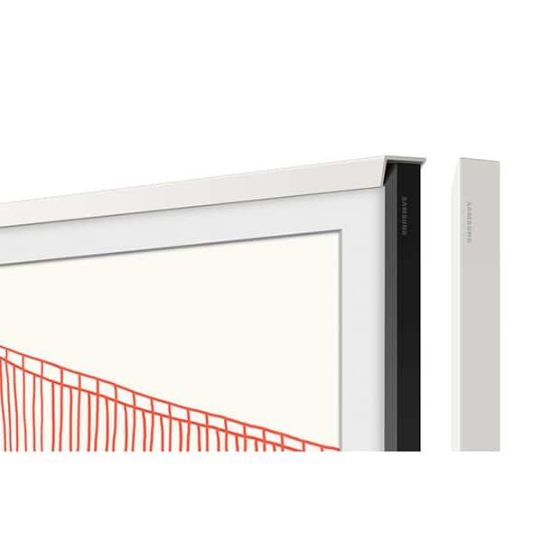 Rama TV personalizata SAMSUNG VG-SCFA55WTCXC pentru The Frame TV (2021) 55LS03A, alb