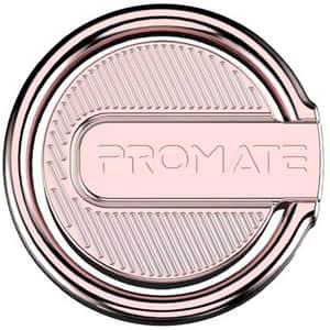 Suport tip inel pentru telefon PROMATE RinGrip-1, roz-auriu