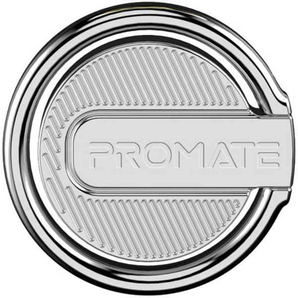 Suport tip inel pentru telefon PROMATE RinGrip-1, argintiu