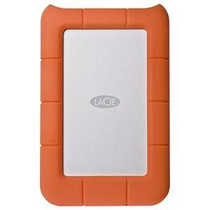 Hard Disk Drive portabil LACIE Rugged Mini LAC301558, 1TB, USB 3.0, argintiu-orange