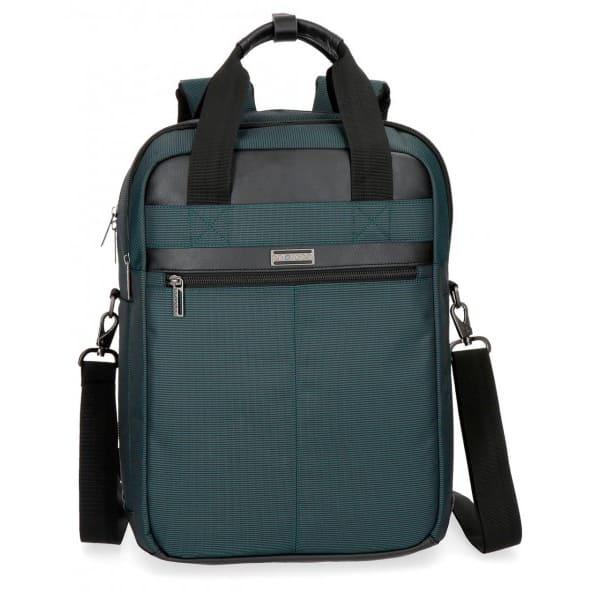Rucsac MOVOM Business 5642462, Compartiment laptop, albastru