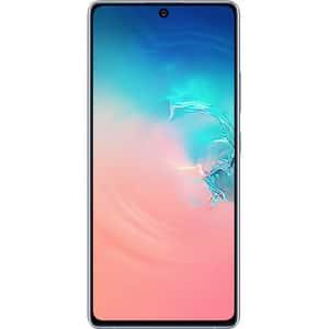 Telefon SAMSUNG Galaxy S10 Lite, 128GB, 8GB RAM, Dual SIM, Prism White