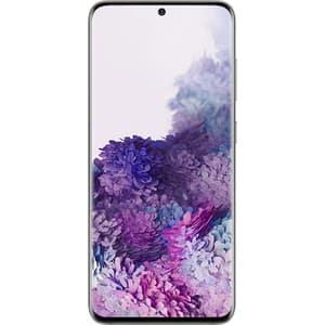 Telefon SAMSUNG Galaxy S20, 128GB, 12GB RAM, Dual SIM, 5G, Cloud White