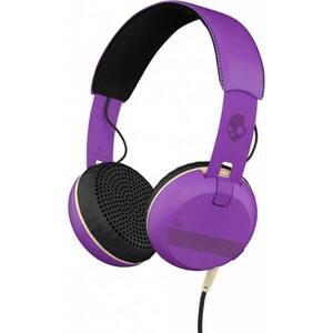 Casti SKULLCANDY Grind S5GRHT-468, Cu fir, On-ear, Microfon, ILL Framed Purple Black
