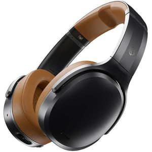Casti SKULLCANDY Crusher ANC S6CPW-M373, Bluetooth, Over-ear, Microfon, Tile Tracker, Noise Cancelling, Black Tan