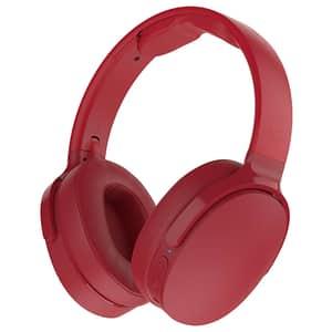 Casti SKULLCANDY Hesh 3 S6HTWK-613, Bluetooth, Over-Ear, Microfon, rosu