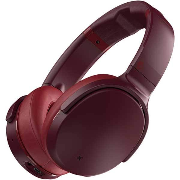 Casti SKULLCANDY Venue S6HCW-M685, Bluetooth, Over-ear, Microfon, Noise Cancelling, Moab Red Black