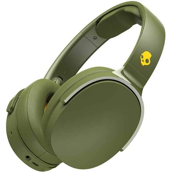 Casti SKULLCANDY Hesh 3 S6HTW-M687, Bluetooth, Over-ear, Microfon, Moss Olive Yellow