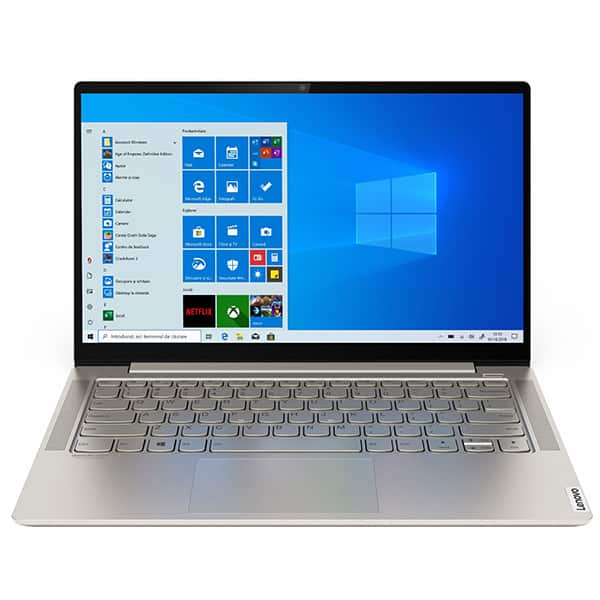 "Laptop LENOVO Yoga S740-14IIL, Intel Core i7-1065G7 pana la 3.9GHz, 14"" Full HD, 8GB, SSD 1TB, Intel Iris Plus Graphics, Windows 10 Home, Mica"