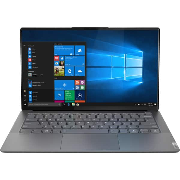 "Laptop LENOVO Yoga S940-14IWL, Intel Core i7-8565U pana la 4.6GHz, 14"" HDR UHD, 16GB, SSD 1TB, Intel UHD Graphics 620, Windows 10 Home, gri"