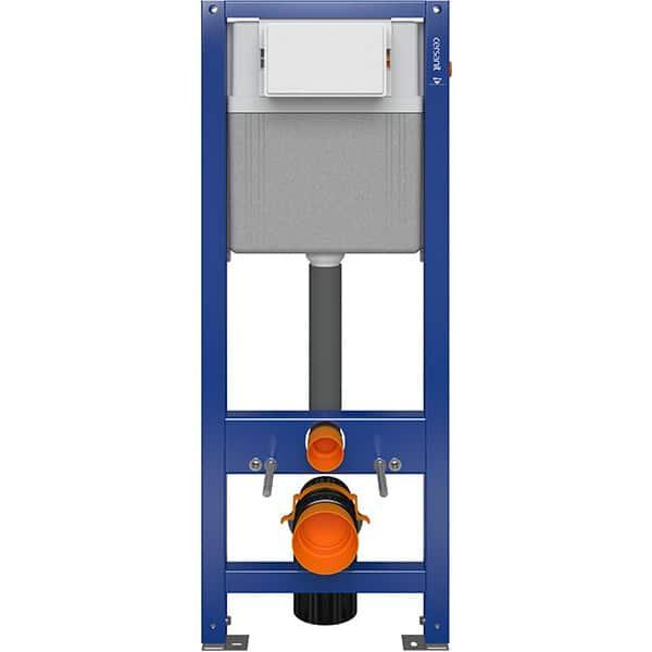 Rezervor WC incastrat CERSANIT Aqua 22 S97-046, 2-6 l, albastru