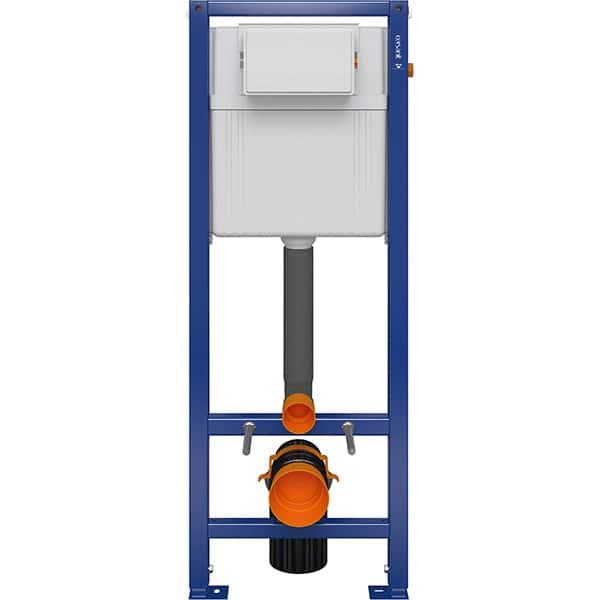 Rezervor WC incastrat CERSANIT Aqua 02 S97-063, 3-6 l, albastru