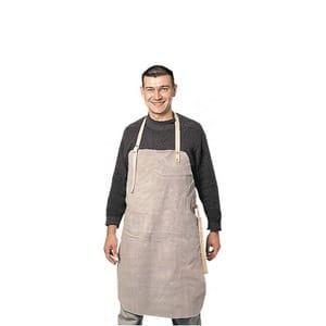 Sort de protectie COVERGUARD Sacla, piele, pentru sudura, 90 x 60 cm, crem