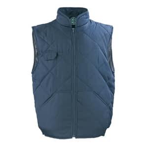 Vesta de protectie COVERGUARD, matlasata, marimea XL, albastru