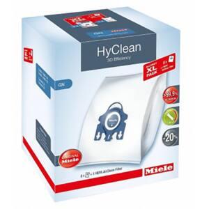 Kit MIELE Allergy XL HyClean 3D: 8 saci + 2 filtre motor + filtru Hepa