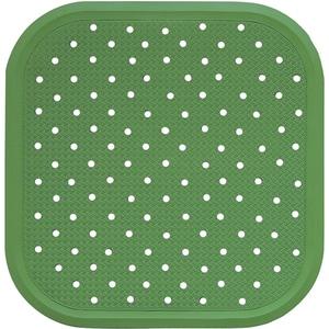 Covoras antiderapant pentru dus SANGER SANG13727, 56 x 56cm, verde