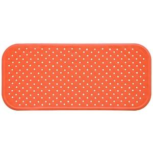 Covoras antiderapant pentru cada SANGER SANG13745, 76 x 34cm, portocaliu