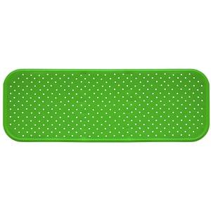 Covoras antiderapant pentru cada SANGER SANG13767, 96 x 34cm, verde