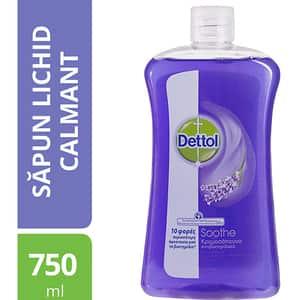 Rezerva sapun lichid DETTOL, cu Lavanda, 750ml