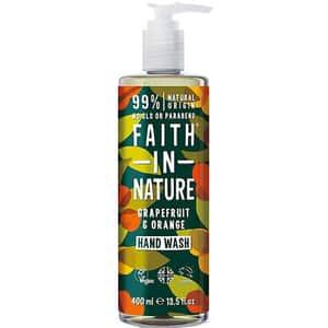 Sapun lichid FAITH IN NATURE Grapefruit&Orange, 400ml