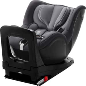 Scaun auto BRITAX ROMER Dualfix i-SIZE, 5 puncte, 0-18kg, gri inchis
