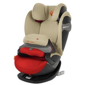 Scaun auto CYBEX Pallas S-Fix 520000555, Isofix, 9 - 36kg, portocaliu-bej