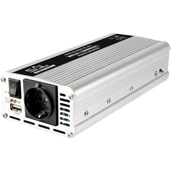 Invertor de tensiune SAL 2000USB, 2000W, 12V DC